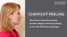 Chemický peeling - Chemický peeling – nielen na akné a mastnú pleť  a účinný postup k omladeniu, rejuvenizácií a regenerácií pokožky tváre: ◽ Povrchový chemický peeling ◽ Stredne hlboký chemický peeling ◽ Viac ako 30 druhov peelingov  Termín je možné objednať na http://fresha.com/olalook-haime5be/booking  *Výsledky ošetrenia sú individuálne a môžu sa líšiť od osoby k osobe