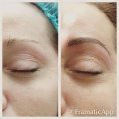 Permanentní make-up - fotka před - prim. MUDr. Blanka Vraspírová