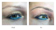 Permanentný make-up - Fotka pred - Klinika YES VISAGE - klinika estetickej medicíny a plastickej chirurgie