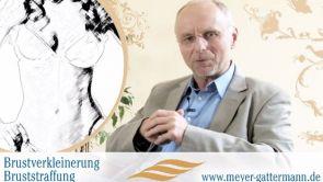 Brustverkleinerung und Bruststraffung - Sprechstunde bei Dr. Meyer-Gattermann