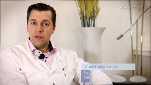 Platzierung der Brustimplantate