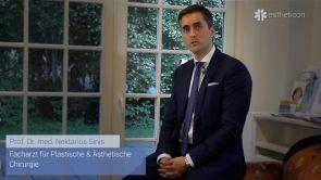 Lidkorrektur mit Eigenfett-Transplantation
