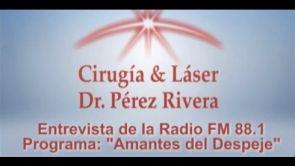 Entrevista en radio al Dr. Fabián Pérez Rivera