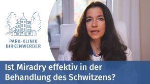 MiraDry: Effektive Behandlung des Schwitzens in der Park-Klinik in Birkenwerder