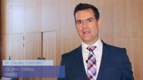 Dr. Claudio Colombo se presenta para los usuarios de Estheticon
