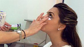 Madalina Radu si-a corectat cearcanele si este foarte multumita de esteticianul ei