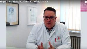 Worin bestehen die Unterschiede zwischen anatomischen und runden Implantaten?