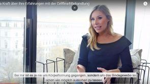 Nina Kraft und ihre Erfahrung mit der Cellfina®️-Behandlung