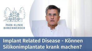 Können Silikonimplantate Krankheiten verursachen?