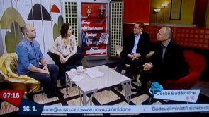 Léčba lupénky laserem - Snídaně s Novou, 17.1.2014