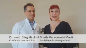 Platzierung der Implantate in der Lucerne Clinic