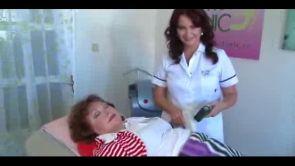 Naďa Konvalinková v Petra Clinic