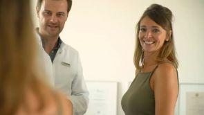 Nach zwei Schwangerschaften wieder eine pralle Brust