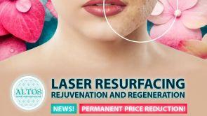 LASEROVÝ RESURFACING omlazení a regenerace pleti