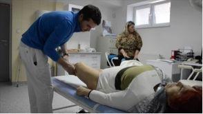 Artroskopia ramena, čistenie pozostatkov po zápale v kĺbe