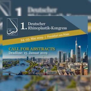 1. Deutsche Rhinoplastik-Kongress in Frankfurt