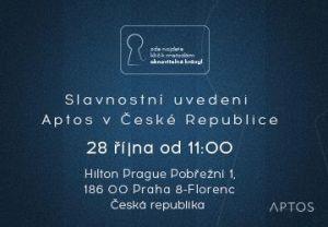 Zahájení Aptos v České republice