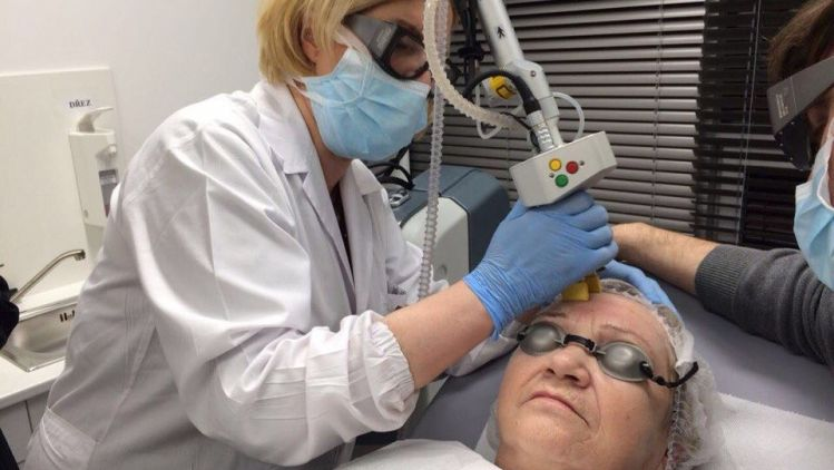Laser resurfacing for rejuvenation and skin improvement