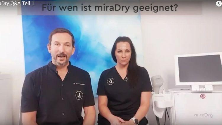 MiraDry: Schluss mit Schwitzen