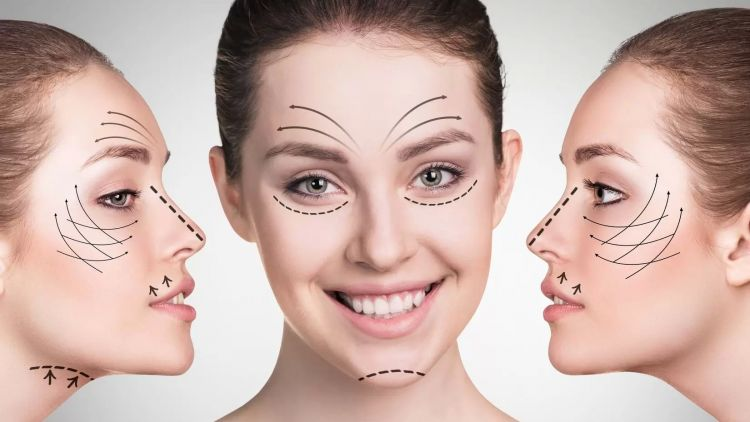 Les liftings du visage