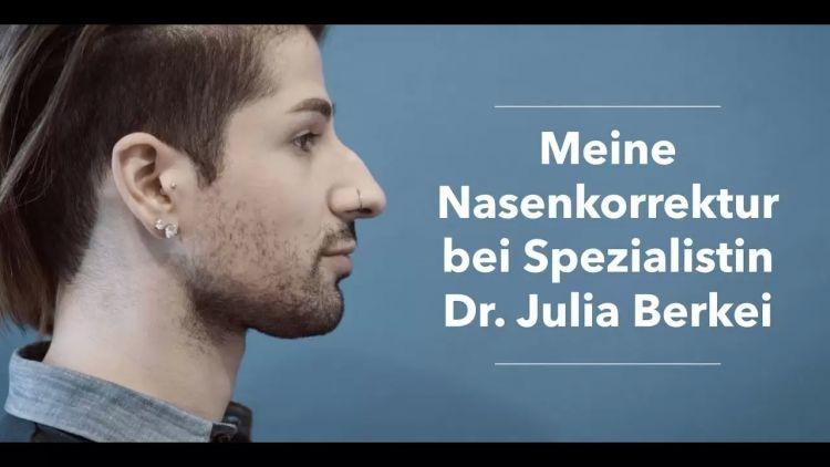 Dr. Berkei und Nasenkorrektur beim Mann