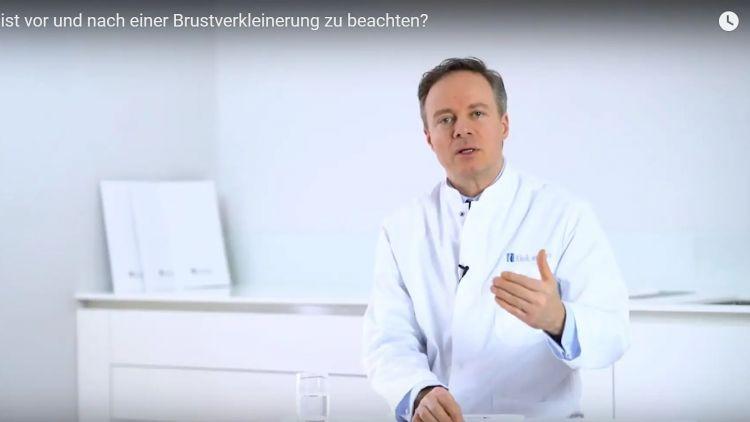 Was muss ich vor und nach einer Brustverkleinerung beachten?